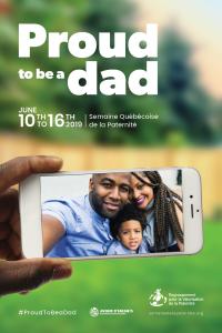 Affiche Fier d'être père